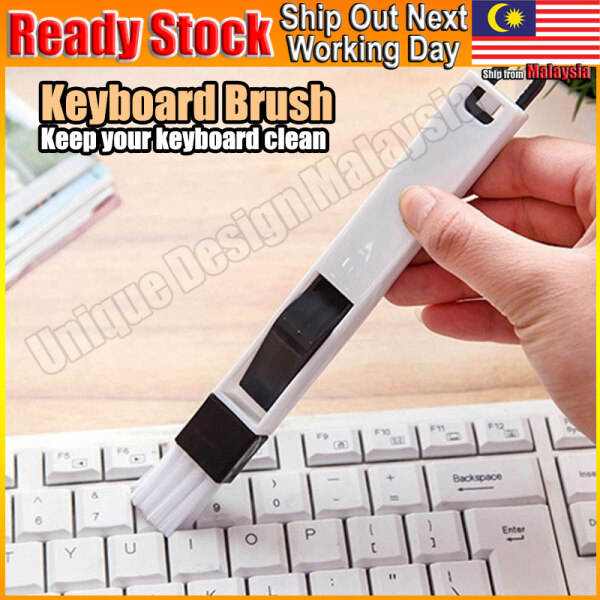 Keyboard Brush Computer Laptop Notebook Berus Device Cleaning Dust