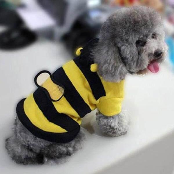Jingyandongz®Pet Hoodie Quần Áo, Trang Phục Chó Con Ưa Thích Dễ Thương Trang Phục Áo Khoác Cho Chó Mèo, Bee Phong Cách