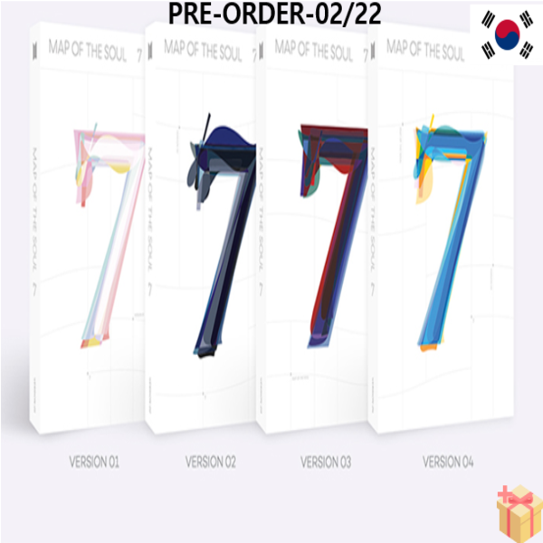 [PRE-ORDER] BTS - MAP OF THE SOUL : 7 [2020-02-22] VER4