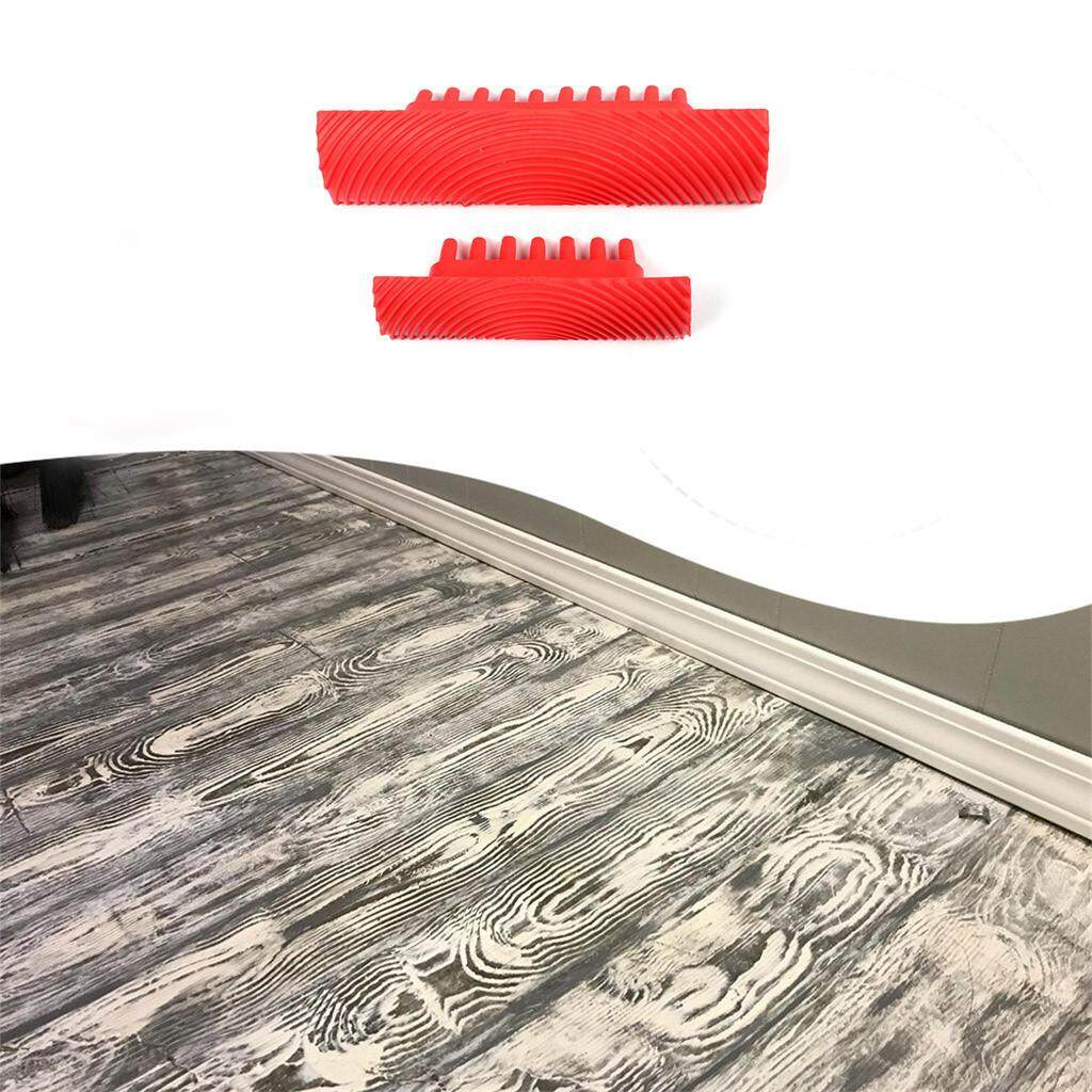 Wood Grain Pattern Rubber DIY Graining Painting Tool For Wall Decoration