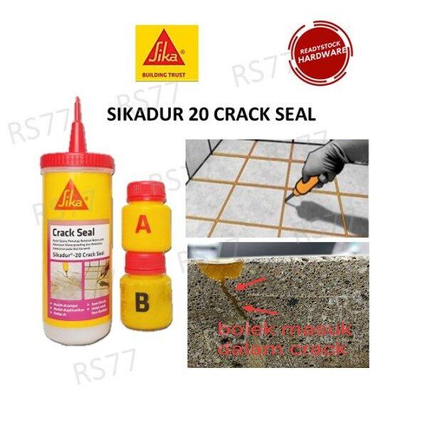 ✶✹  SIKA SIKADUR 20 Crack Seal Repair Cement Floor Crack A B (160ml) (dont COD)