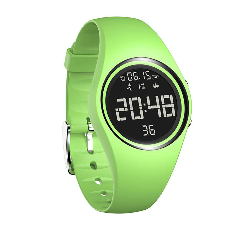 Fitness Tracker, Smart Watch Non-Bluetooth, Pedometer Smart Bracelet with Timer Step Calories Counter Date Vibration Alarm for Sport Walking Kids Women Men Green Malaysia