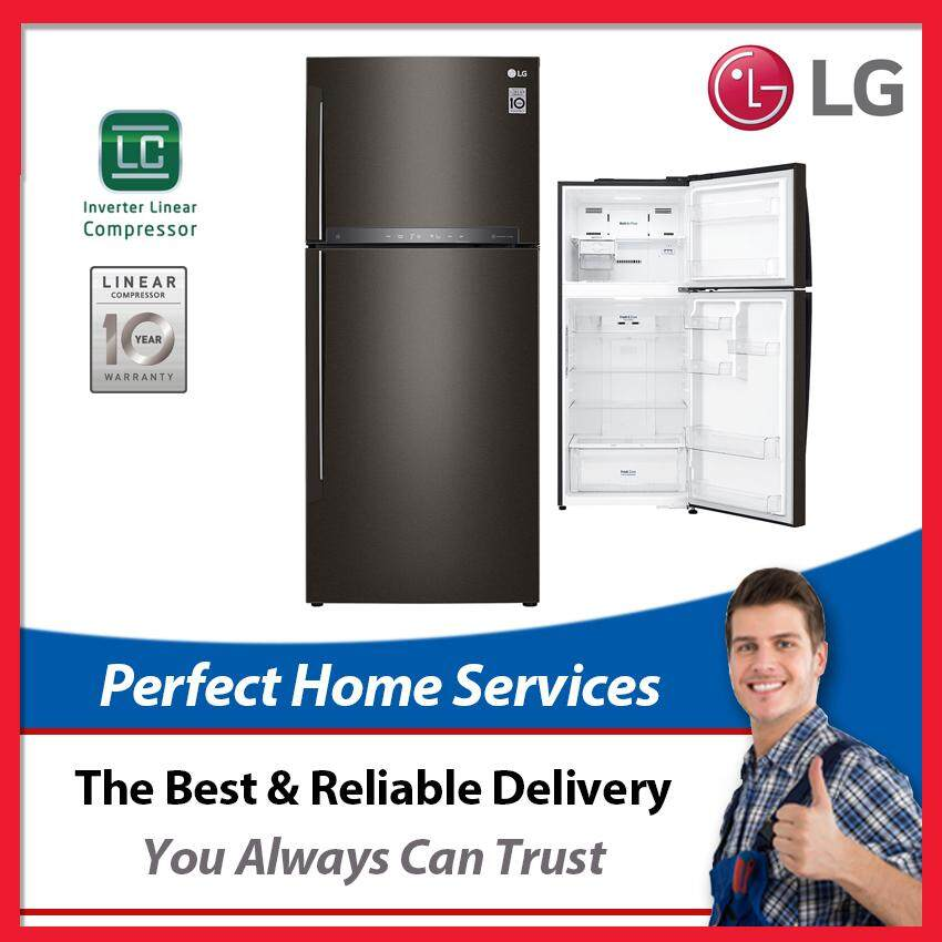 LG New 437L (GN-H432HXHU) Inverter Linear Compressor Fridge with Touch LED Display, Express Direct Shipping Within Klang Valley