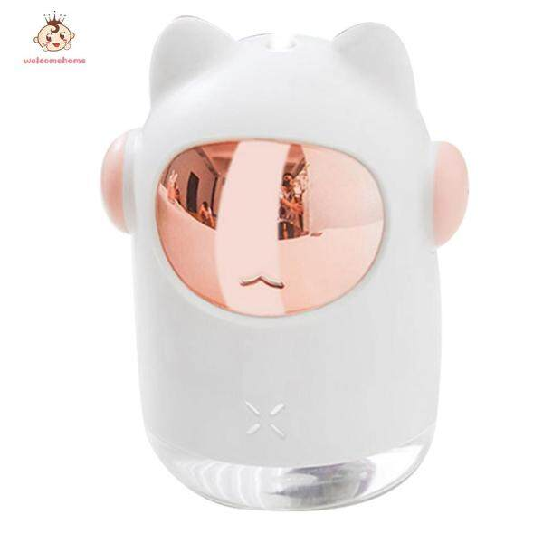Cat Shaped Humidifier Home Office USB Portable Mist Maker Sprayer Aroma Diffuser Singapore