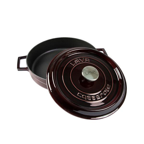 LAVA Enameled Round  Cast Iron Dutch Oven with Lid 2,61 Quart Singapore