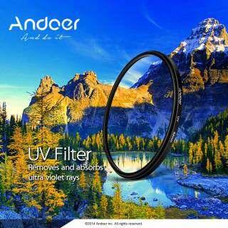 Andoer Bộ Lọc Tia Cực Tím 52Mm Bảo Vệ Ống Kính, Dành Cho Máy Ảnh DSLR Canon Nikon thumbnail