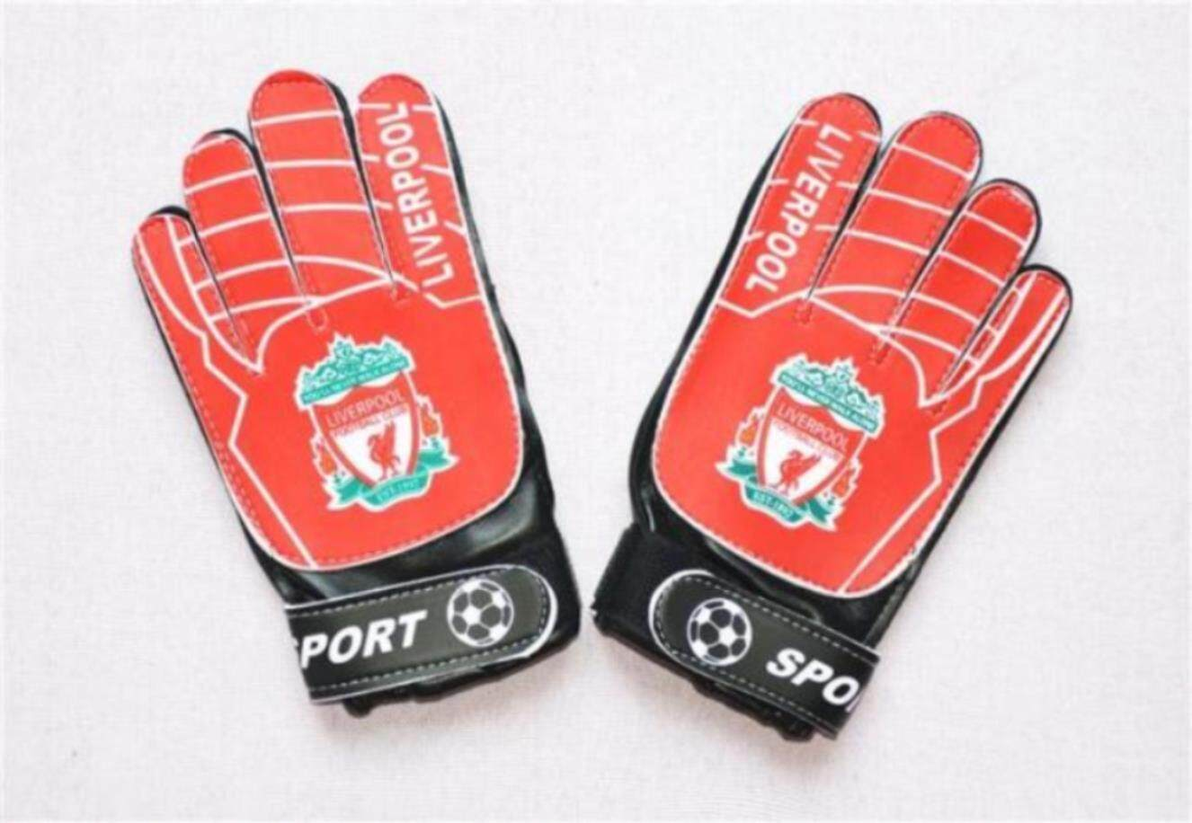 【High Quality】Free Shipping Children Goalkeeper Gloves Primary School Students Football Door Gloves Non-slip Wear-resistant More A Gantry Gloves