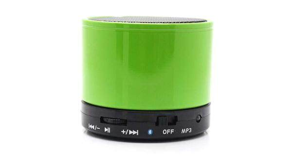 CSmall : USB TF Card Speakers Portable mini Metal Wireless Bluetooth Speaker Green Colour Malaysia