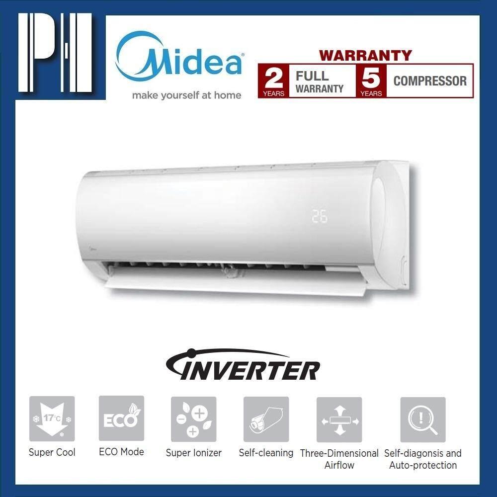 MIDEA MSMA-12CRDN1 1.5HP R410a DC INVERTER SUPER IONIZER AIR CONDITIONER
