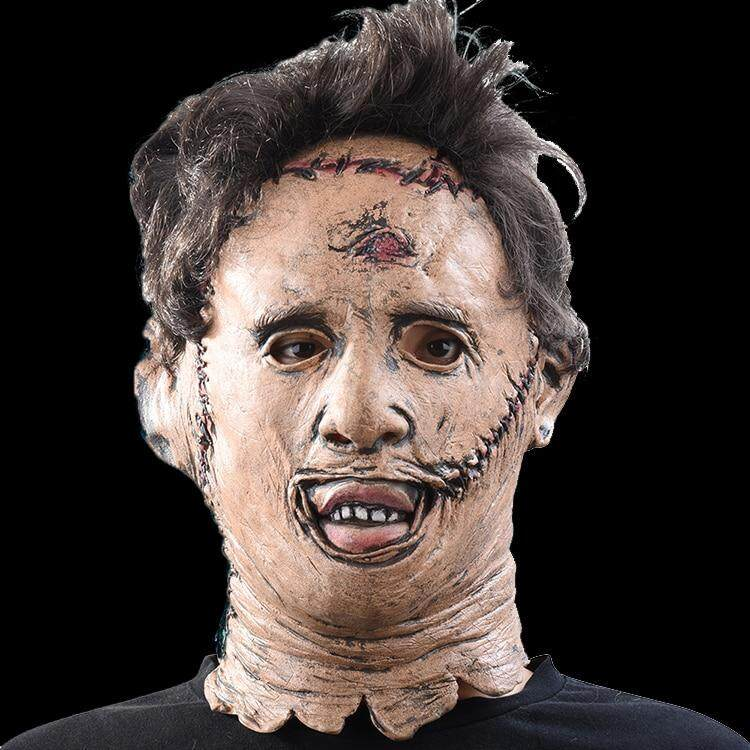 The Texas Chainsaw Massacre Leatherface Masks Scary Movie Cosplay Halloween Costume Props High Quality Toys Party Latex mask