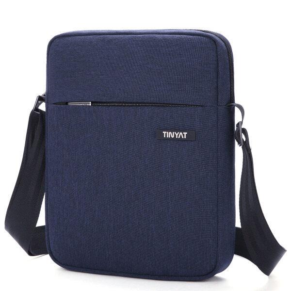 TINYAT Man Bag Messenger Bag Crossbody Bags Waterproof Shoulder Bag Man Purse Purses and Bags for Men