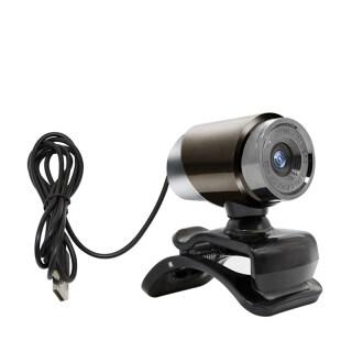 Hàng Có Sẵn Webcam Mới 2021 Webcam USB Không Cần Trình Điều Khiển Máy Tính Kèm Micro Hấp Thụ Âm Thanh Tích Hợp Đi Kèm thumbnail