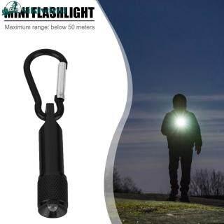 Sikiwind Bán Chạy Siêu Sáng Tiết Kiệm Năng Lượng Mini LED Hợp Kim Nhôm Carabiner Đèn Pin Ngoài Trời Cắm Trại Leo Núi Pocket Torch Ánh Sáng Với Keychain Nút Pin thumbnail