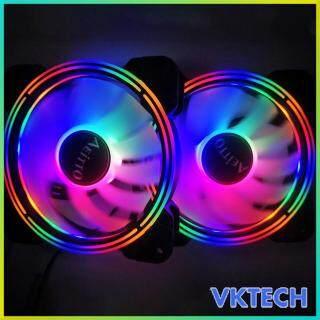 [Vktech] Quạt Làm Mát Vỏ Máy Tính PC DC 12V, Bộ Tản Nhiệt Tản Nhiệt CPU 120Mm thumbnail