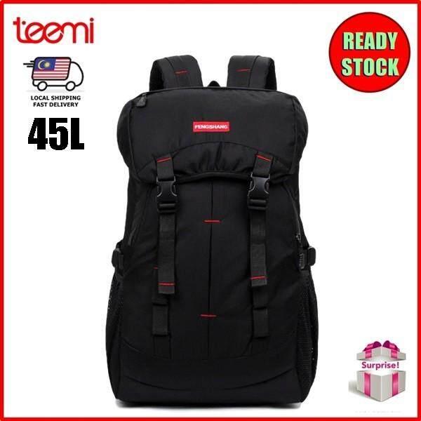 TEEMI 45L Sports Hiking Backpack Trekking Camping 16 Laptop Sleeve Travel Bag