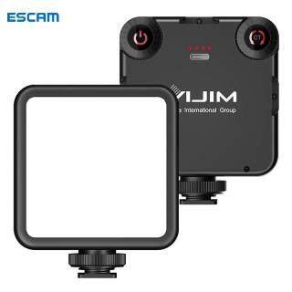 ESCAM VIJIM VL81 Giày Ba Lạnh Đèn LED Vòng Quay Video Đèn Video Mini Nhiệt Độ Hai Màu 6.5W, Đèn Chụp Ảnh thumbnail