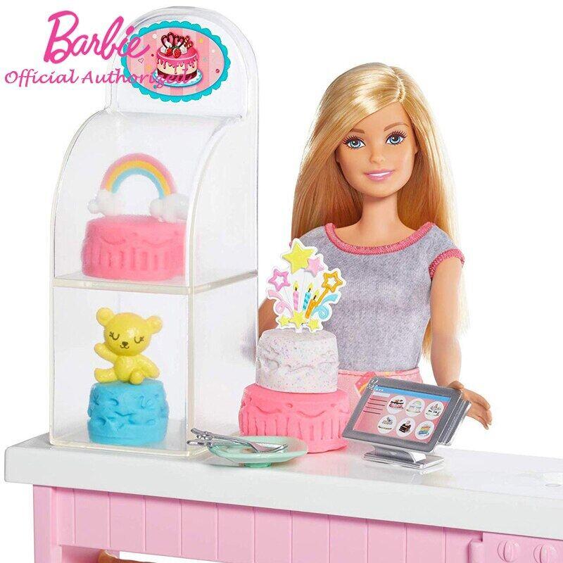 Asli Merek Barbie Boneka Kue Dekorasi Playset Memasak Aksesoris Berpura Pura Mainan Keluarga Gfp59 2020 Hadiah Ulang Tahun Terbaru Lazada Indonesia