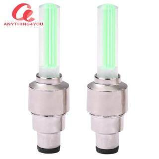 Always Lower Price 2 Cái Nắp Van Lốp Bánh Xe Đạp Leo Núi Đèn LED Neon Phát Sáng Lốp Xe Đạp thumbnail