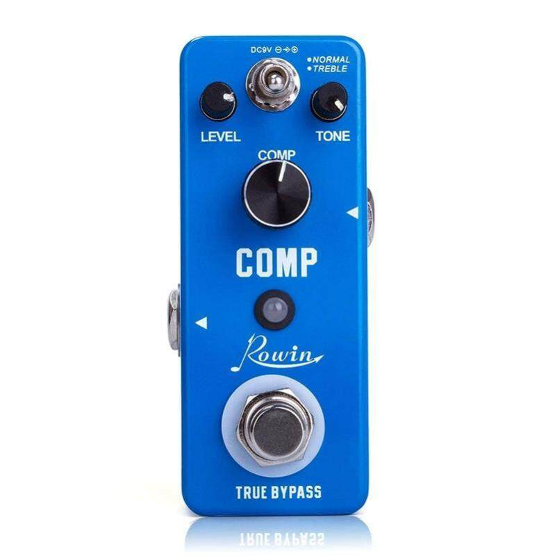 Rowin Compressor Pedal Comp Effect Pedal for Guitar Malaysia