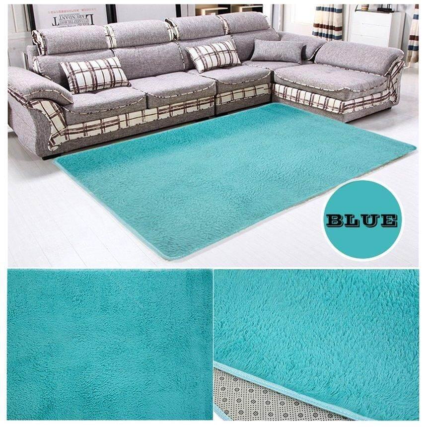 Best Sales Fiber House Living Room Bedroom Carpet Anti-Skid Shaggy Area Rug Floor Mat Environmentally Friendly Dyes Easy To Clean,Welcome Mat, Doormats, Carpet, Anti-Slip