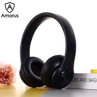 Tai Nghe Không Dây Amorus P68 Macaron Style Bluetooth 5.0, Có Thể Gập Lại, Tai Nghe Chụp Tai thumbnail