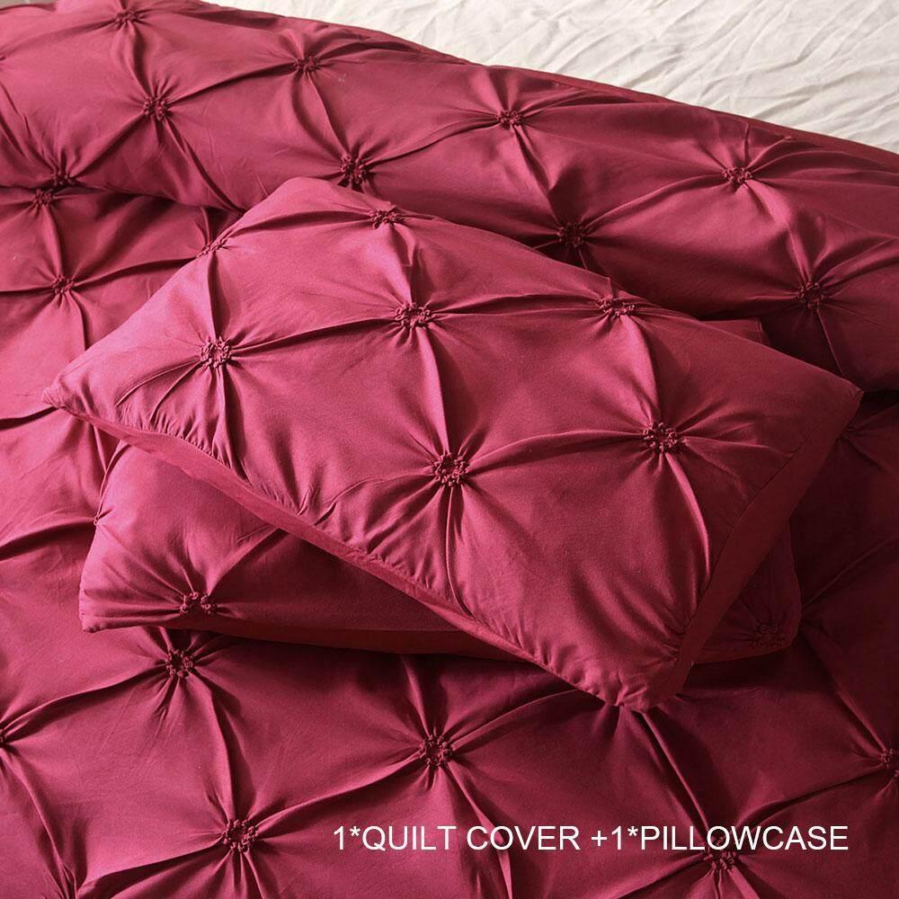 Bedding Sets Quilt Cover Duvet Cover New Luxury Polyester Fiber 3pcs Bed Bedding Cover Set