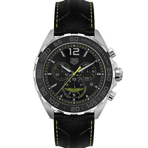 Original TagHeuer Formula 1 Chronograph Aston Martin Special Edition Swiss Quartz 43mm Malaysia