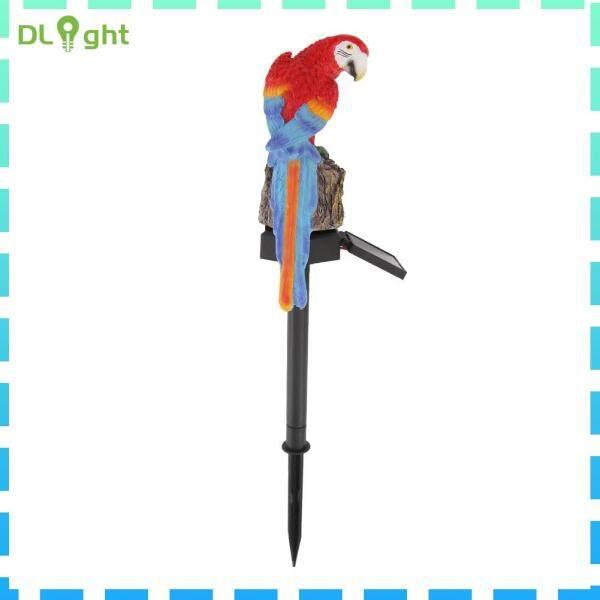Năng Lượng Mặt Trời LED Parrot Lawn Light Ngoài Trời Không Thấm Nước Sân Vườn Đèn Cảnh