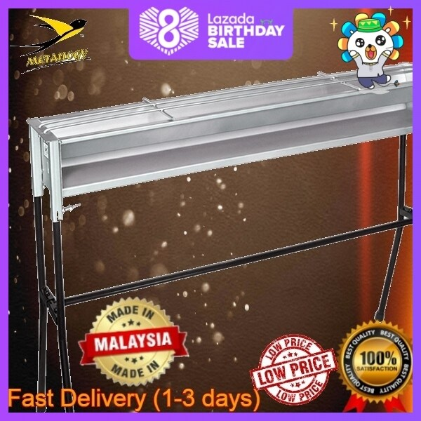 [DIfferent Size]Metallogy BBQ Grill Satay Steel Charcoal With Steel Stand Classic Picnic Cooking Stove/Dapur Tradisional Satay Arang