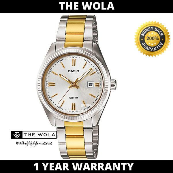 (100% Original CASIO) CASIO Women Casual Watch LTP-1302SG-7AVDF (watch for women / jam tangan wanita / Casio watch for women / Casio watch / women watch) Malaysia