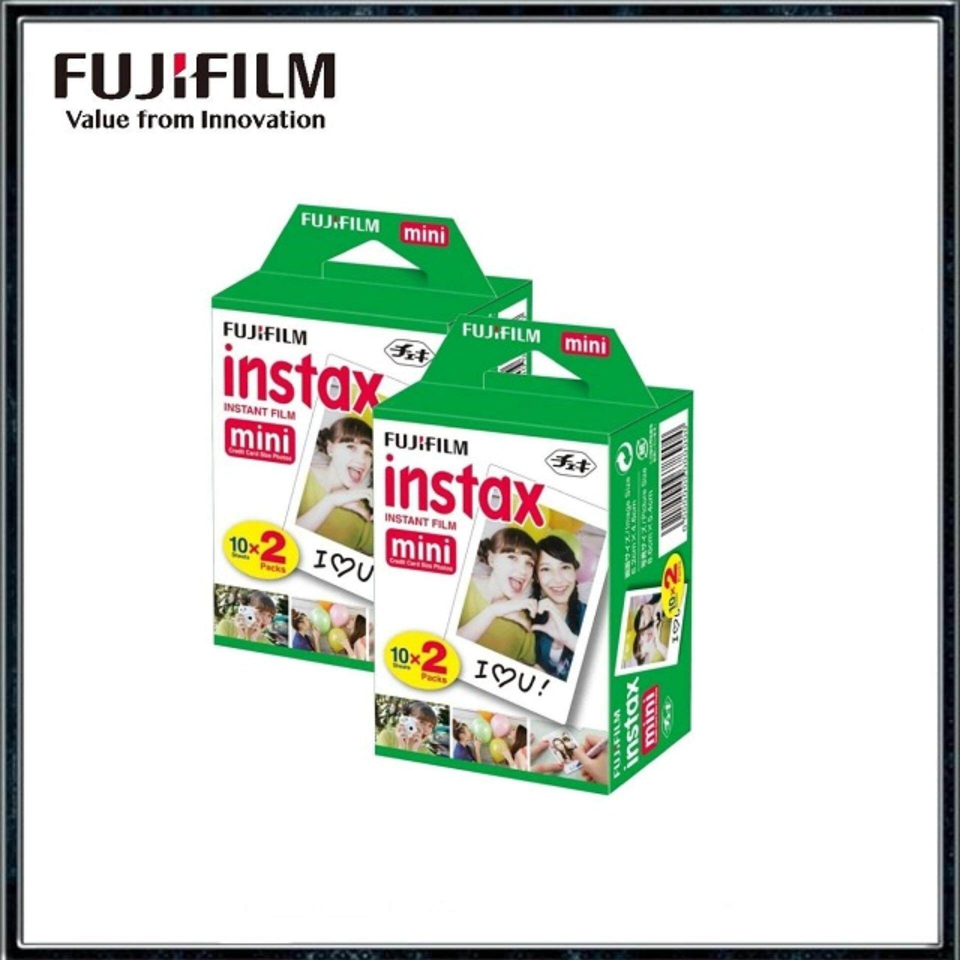 Fujifilm Instax Mini Instant Film Twin Pack (40sheets) By Digital Solutions.