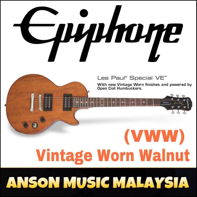 Epiphone Les Paul Special VE Electric Guitar, Vintage Worn Walnut (VWW) Malaysia
