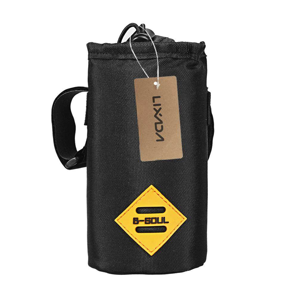Water-Resistant Bicycle Handlebar Water Bottle Holder Bag Storage Pouch For Cycling Camping Hiking Backpacking By Tdigitals.