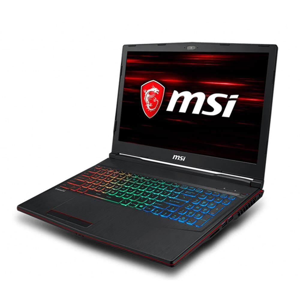MSI GP63 8RE-820 15.6 Gaming Laptop/ Notebook (i7-8750H, 8GB, 1TB, 256GB, NV GTX1060, W10H) Malaysia