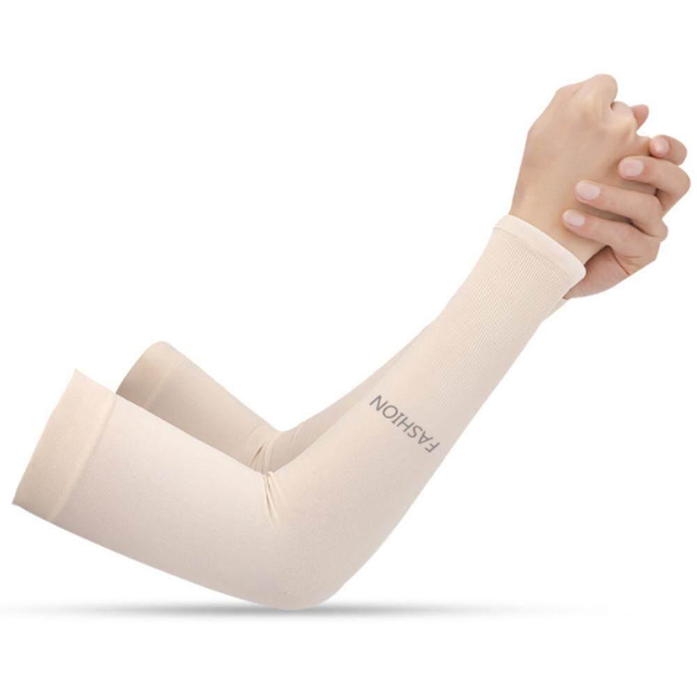 349ee85baa6b6 [Likelyhood] 1 Pair Summer Arm Sleeves Sun UV Protection Cycling Driving Arm  Cover