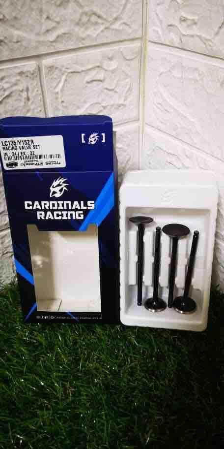 Original Cardinals racing valve set In24/Ex22 LC135/Y15ZR