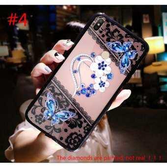 UPaitou 3D บรรเทาลูกไม้ดอกไม้เคสโทรศัพท์สำหรับ Xiaomi Redmi S2 (5.99 นิ้ว) รูปแบบหรูหราหรูหราเคส TPU แบบอ่อนยางยืดหยุ่นฝาหลัง