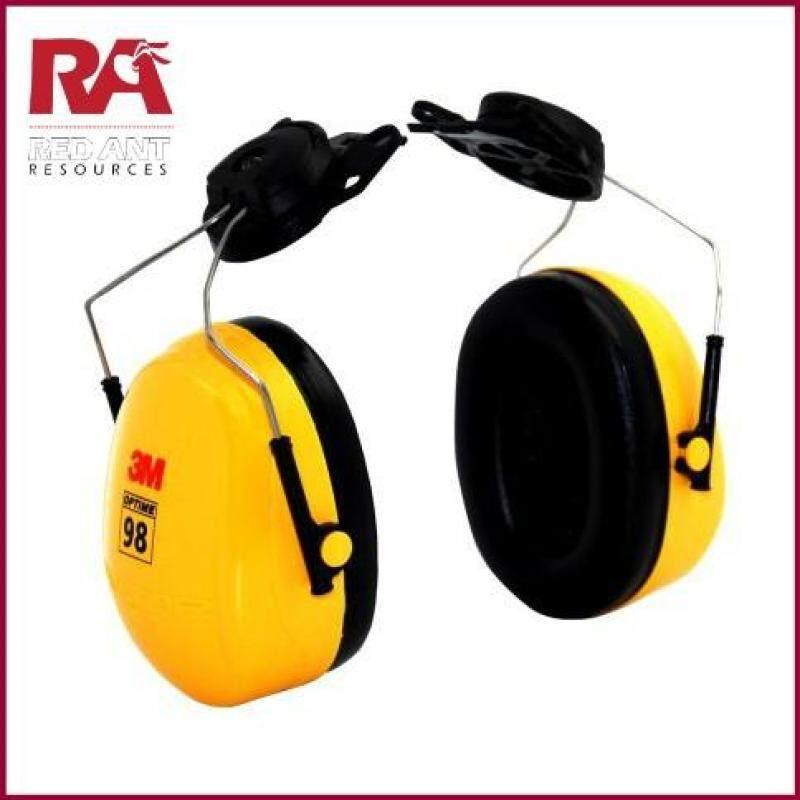 3M H9P3E PELTOR OPTIME 98 SERIES CAP-MOUNT EAR MUFF