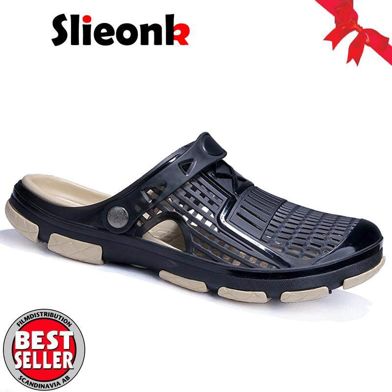 1ad7094f89af Slieonk 2019 New Men Sandals Summer Flip Flops Slippers Men Outdoor Beach  Casual Shoes Cheap Male