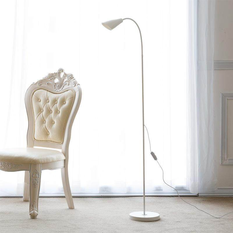 LED Floor Lamp Vertical Table Lamp Study Room Living Room Reading Lamp Continental Modern Simple