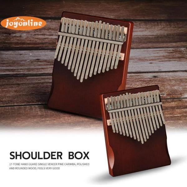 17 Keys Kalimba Pine Wood Musical Instrument Thumb Finger Piano for Beginner 180x130x50mm Malaysia