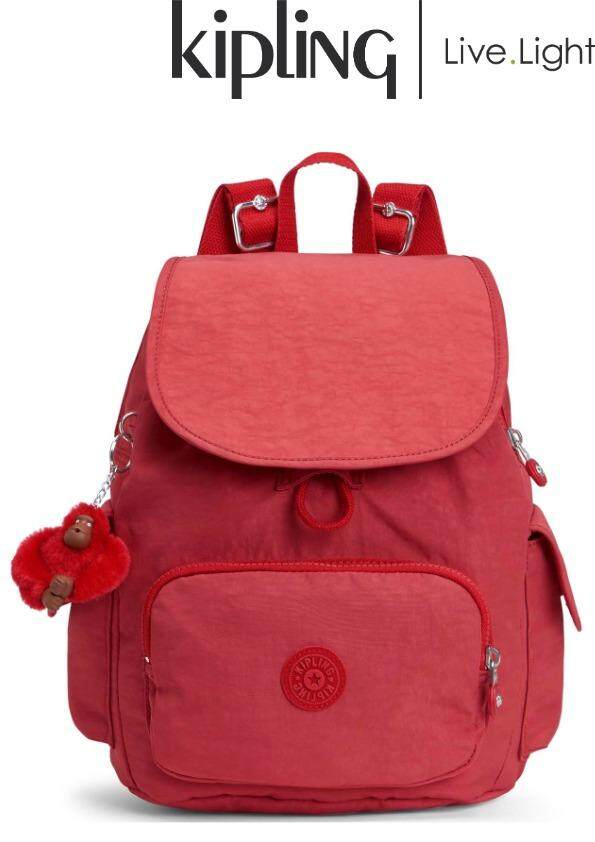 KIPLING CITY PACK S Spicy Red C - Small Backpack  Ladies Casual Sport  Travel Everyday 391c7178e4