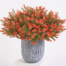 [KA Hues] Cây Hoa Nhân Tạo Lá Giả Bằng Nhựa Tán Lá Trang Trí Vườn Nhà Văn Phòng