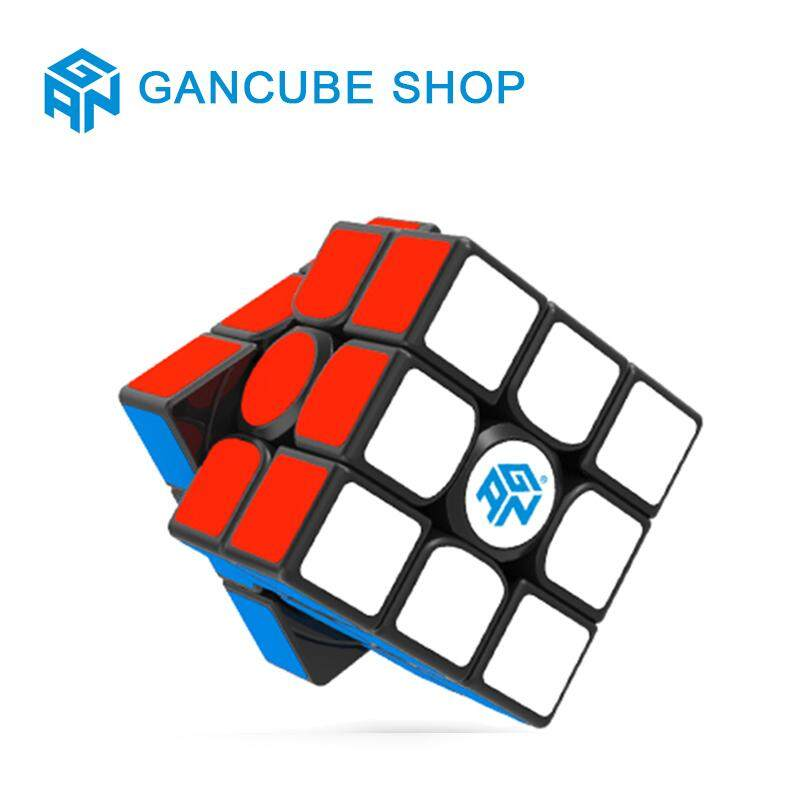 Gan 356 Air SM Speed Cube 3x3 Gans 356 Air S Magnetic Cube 3x3x3 Puzzle Toy Black (2019 Upgraded Version)