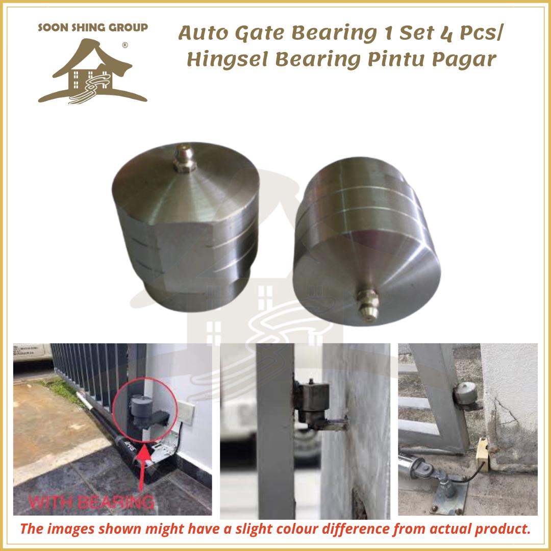 Auto Gate Bearing 1 Set 4 Pcs Hingsel Bearing Pintu Pagar Lazada