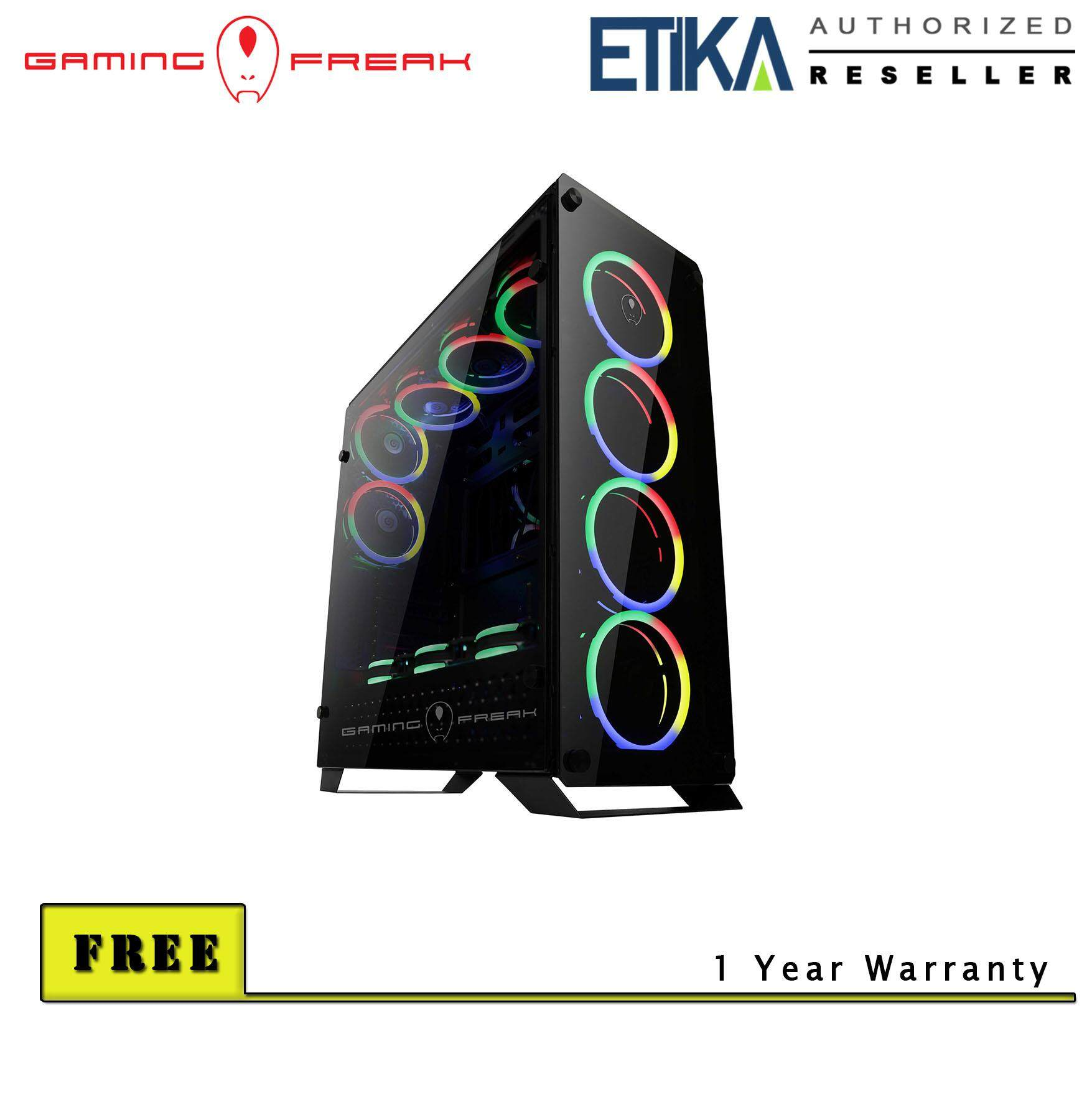 Gaming Freak Hubble 905G Premium Middle Tower Case Malaysia