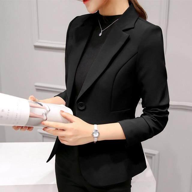 Áo Blazer Nữ Áo Blazer Trang Trọng Bộ Đồ Công Sở Nữ Áo Khoác Áo Khoác Có Túi Áo Khoác Blazer Nữ Màu Đen Mỏng Áo Khoác Nữ