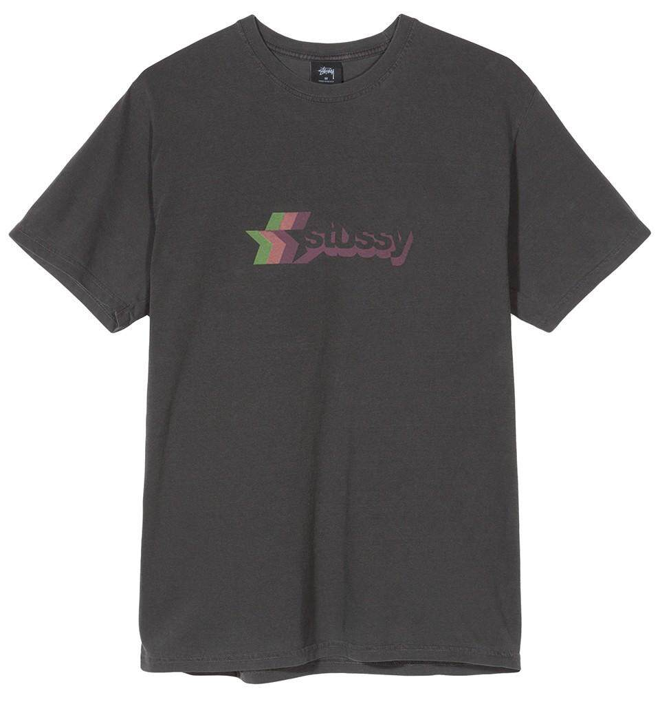 XG Stussy_ECLIPSETEE solar eclipse logo short sleeve T-shirt black and white S-XL Y0619#A3