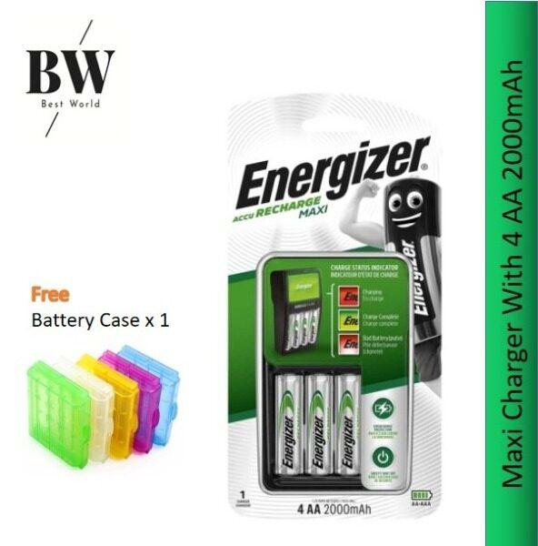Energizer Maxi Charger with 4pcs AA 2000mAh