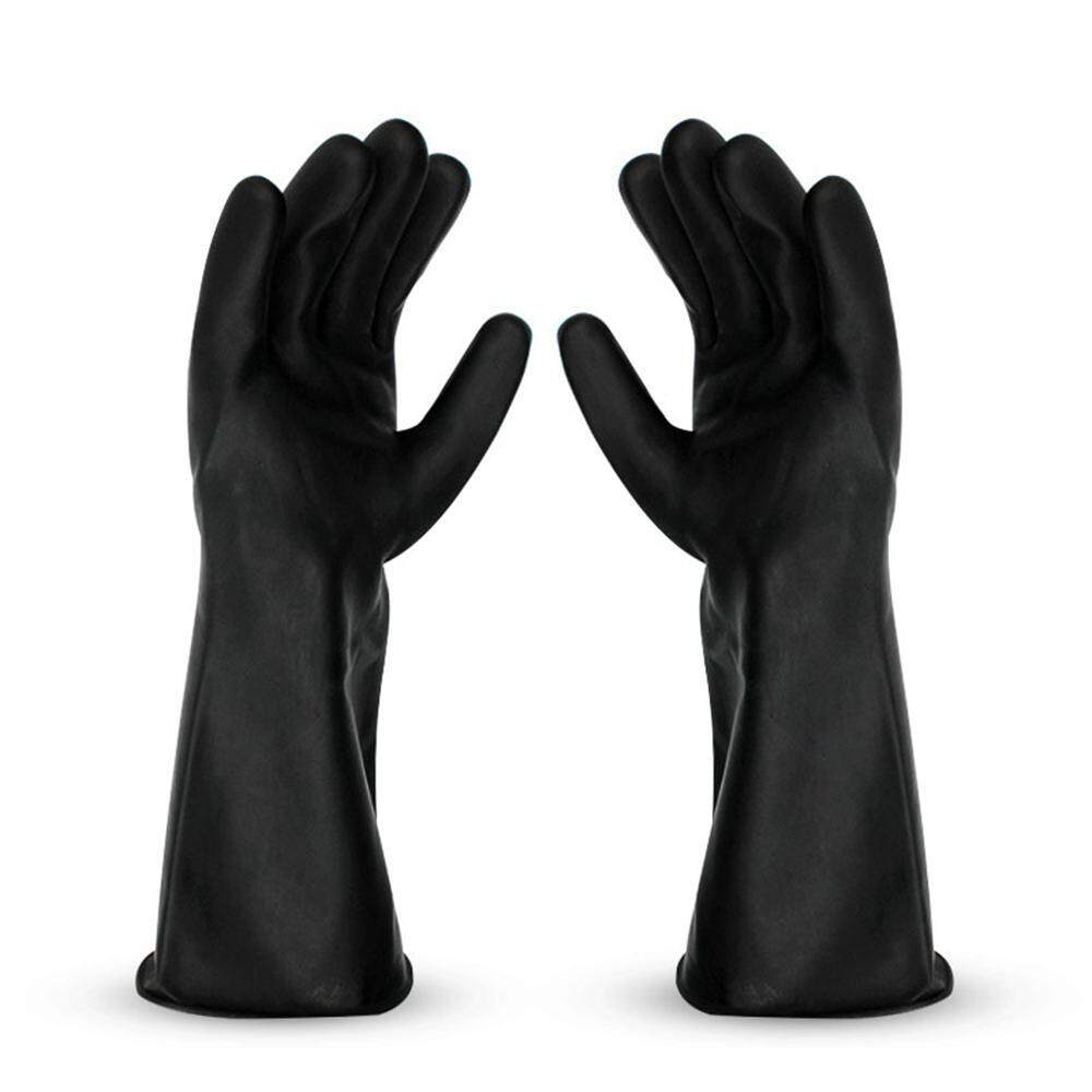 OEM Heavy Duty Chemical Resistant Rubber Gloves, Acid Oil Resistant Latex Gloves For Dishwashing Home Kitchen Industry Work Safety Gloves (1 Pair)
